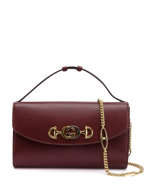 Gucci - GG Horsebit crossbody - women - Leather - One Size - Red