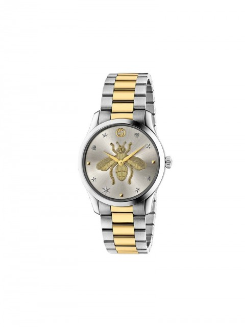 Gucci - G-Timeless 38mm watch - unisex - metal/Titanium - One Size - SILVER