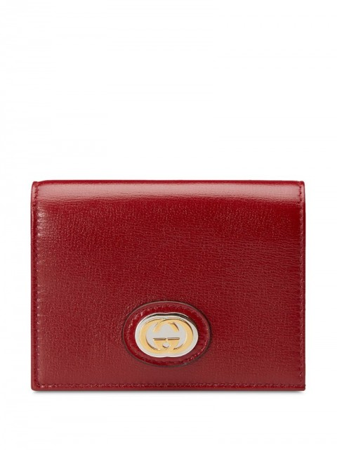 Gucci - GG tri-fold purse - women - Leather - One Size - Red
