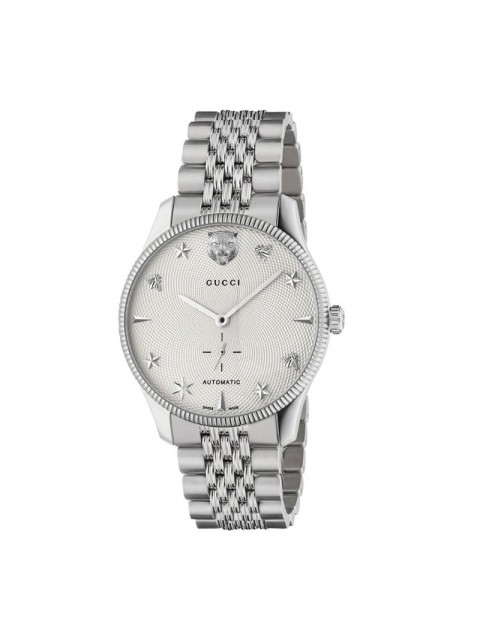 Gucci - G-Timeless 40mm watch - men - Steel - One Size - SILVER