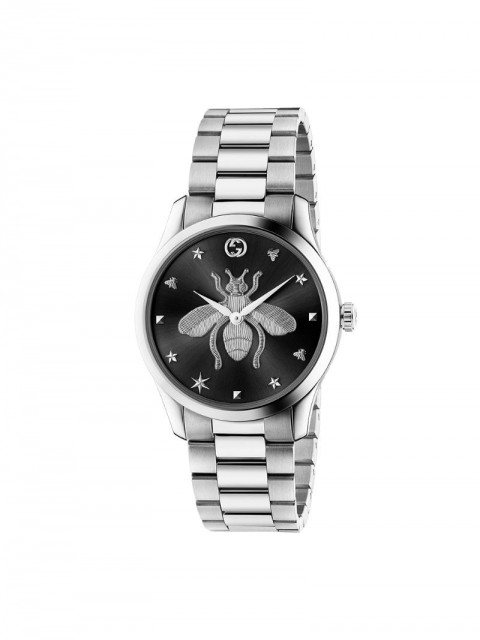 Gucci - G-Timeless 38mm watch - men - Steel - One Size - SILVER