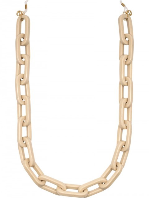 Gucci - chunky glasses link chain - unisex - Resin - One Size - GOLD