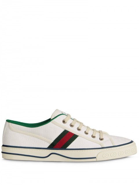 Gucci - Gucci Tennis 1977 sneakers - men - Canvas/Rubber - 8, 10, 7, 9, 11, 5,5, 6,5, 7,5, 8,5, 9,5, 6 - White