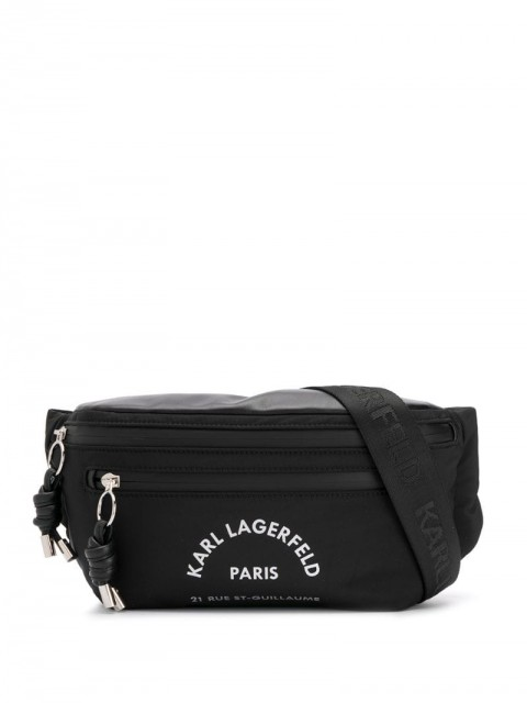 Karl Lagerfeld - Rue St Guillaume bumbag - unisex - Polyester - One Size - Black