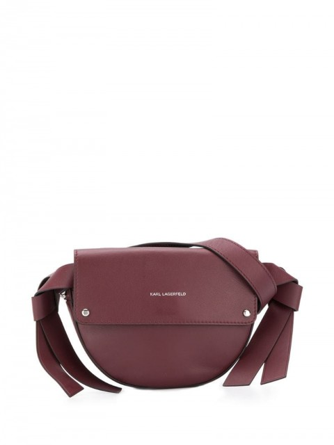 Karl Lagerfeld - K/Ikon Belt Bag - women - Leather - One Size - Red