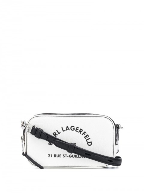Karl Lagerfeld - Rue St Guillaume camera bag - women - Leather - One Size - White