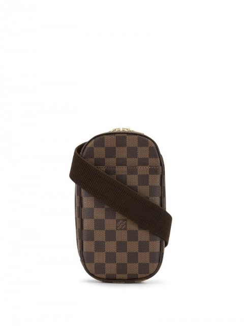Louis Vuitton - 2005 Gange pochette Damier handbag - women - Leather - One Size - Brown