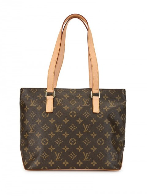 Louis Vuitton - 2006 pre-owned Cabas Piano shoulder bag - women - Canvas/Leather - One Size - Brown