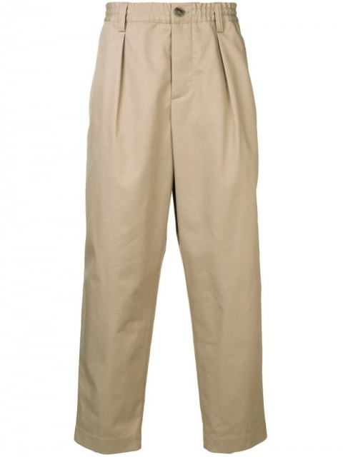 Marni - loose-fit trousers - men - Polyester/Cotton - 50, 48, 46 - Neutrals