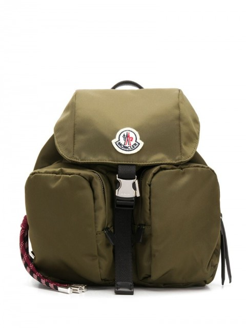 Moncler - small Dauphine backpack - women - Polyamide - One Size - Green