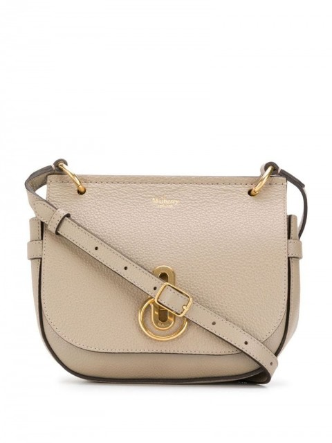 Mulberry - small Amberley satchel - women - Leather - One Size - Grey