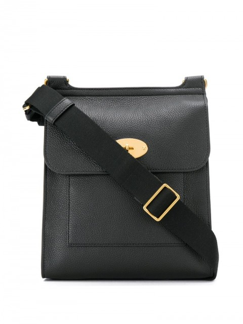Mulberry - Antony shoulder bag - men - Leather - One Size - Black