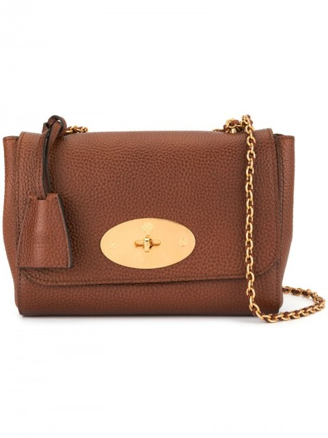 Mulberry - Medium Lily Natural Grain Leather bag - women - Leather - One Size - Brown