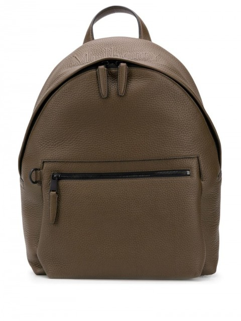 Mulberry - zipped backpack - men - Leather - One Size - Green