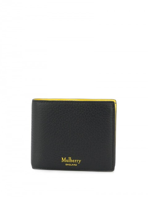 Mulberry - bifold wallet - men - Leather - One Size - Black