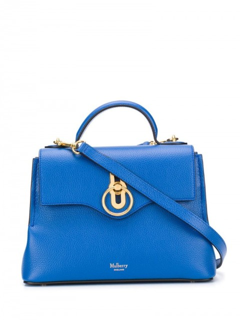 Mulberry - Seaton small shoulder bag - women - Leather - One Size - Blue