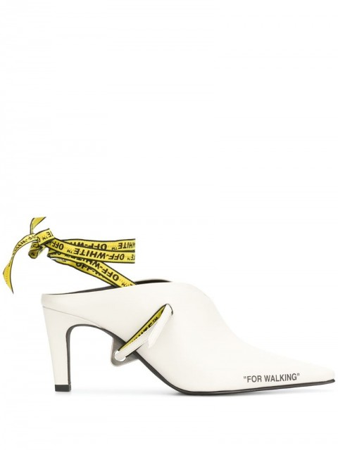 Off-White - For Walking mules - women - Leather - 38 - White