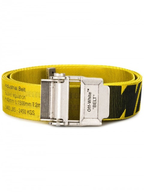 Off-White - 2.0 Industrial belt - unisex - Polyamide/Polyester - One Size - yellow