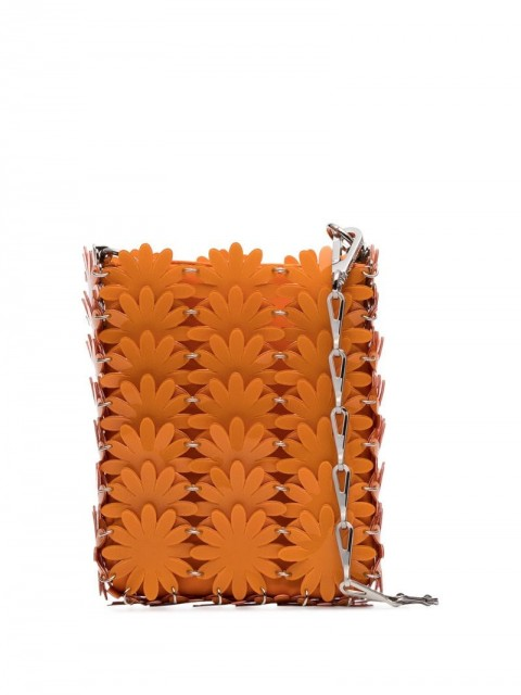 Paco Rabanne - Daisy 69 mini bag - women - PVC/metal - One Size - ORANGE