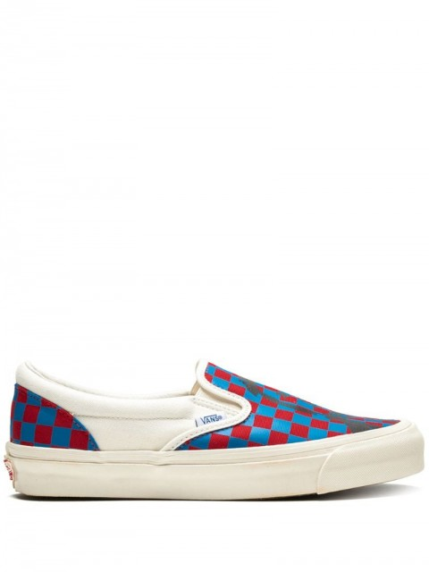Vans - OG Classic Slip-On sneakers - men - Rubber/Canvas - 12 - Red