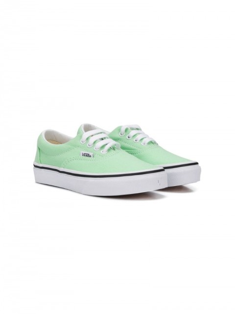 Vans Kids - stitch detail canvas trainers - kids - Cotton/Rubber/Polyester/Canvas - 27, 28, 31, 32, 33 - Green