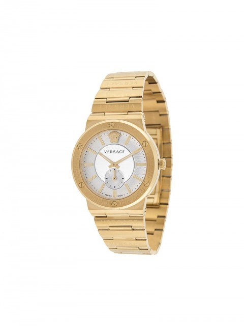 Versace - V-Urban 41 mm watch - men - stainless steel/glass/Sapphire Crystal - One Size - GOLD