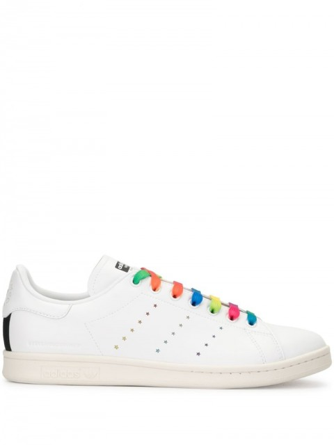 adidas by Stella McCartney - Stan Smith low-top sneakers - men - Leather/Rubber - 46.5, 44, 45 - White