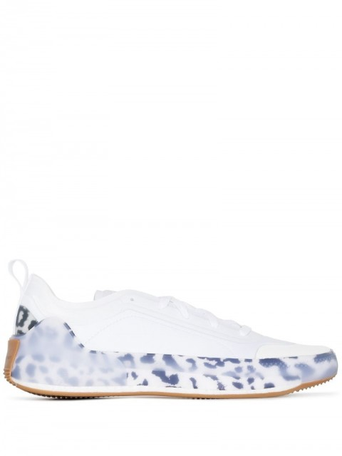 adidas by Stella McCartney - Treino lace-up sneakers - women - Rubber/Fabric - 5, 5.5, 6, 6.5, 7, 7.5, 4.5, 4, 8, 2, 2.5, 3, 3.5 - White