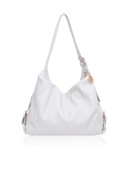 Costner Mineral Leather Hobo Bag
